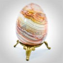 Honey Onyx Easter Eggs with stand