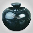 Jade Black Marble Candy Pot Candy Jars