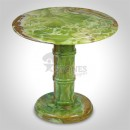 "Multi Green Onyx Table 16"" X 26"" (Inch)"
