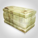 Multi Green Onyx Cremation Urn